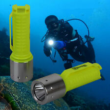 4000 Lumen 60m LED Diving CREE T6 Flashlight Torch Scuba Light Lamp Waterproof R