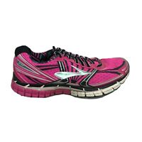 Brooks Adrenaline GTS 14 Running Shoes Womens Size 7.5 7 1/2 Pink White Sneakers