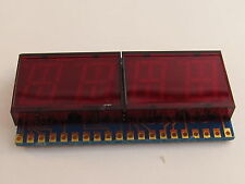 3 Stück NSB5388 NSC LED Display, 3½ Digit, gem.Kathode, für Uhren,Clock Digit 3x