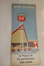 Vintage 1968 HM Gousha Phillips 66 New Mexico Highway Map