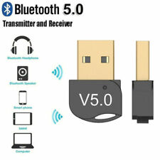 USB Bluetooth 5.0 Adapter Wireless Dongle Stereo Receiver Audio For TV PC Laptop
