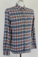 LEVI STRAUSS & Co Mens LEVIS Checked Pattern Long Sleeve SHIRT - Size S - Small