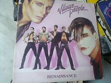 VILLAGE PEOPLE LP RENAISSANCE ITALY 1981 EX+