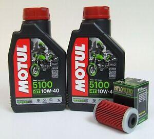 KTM 125 200 390 Duke Service Kit Ölwechsel + Ölfilter Motul 10W-40