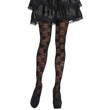 Amscan Adults Skull and Cross Bones Tights - Halloween Fancy Dress Adult