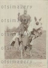1971 Frederick of Gaywood Champion Knight of Kent With Joust Press Photo