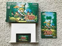 Gameboy Advance GBA The Legend of Zelda The Minish Cap CIB Japan Import LINK