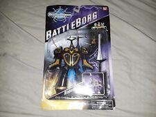 BeetleBorgs BattleBorg ROBOBORG Chromium Gold Beetle Borg Figure NEW