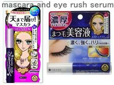 Heroine Makeup Mascara Long Curl Black, and Eyelash Serum, Kiss me Isehan