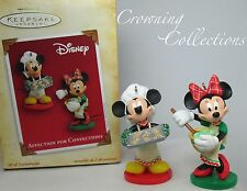 2004 Hallmark Affection for Confections Mickey and Minnie Mouse Disney Ornament