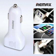 Universal Car Charger USB Socket 3 Port 5V 6.3A Smart IC Protection By Remax