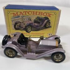 Matchbox Yesteryear Y 7 -2  Mercer Raceabout Type 35J 1913 Mauve BOXED #3
