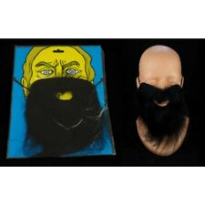 Fausse Barbe Noire Factice avec élastique Halloween Déguisement Party Fête