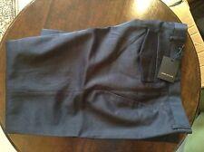 "Junk De Luxe da Uomo Navy Pantaloni 30 "" 36L"