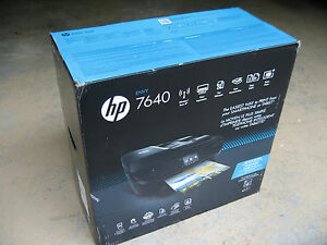 Brand New HP Envy 7640 Wireless All-In-One Inkjet photo Printer Replace PS 7520