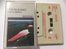 SIMPLE MINDS Audio Cassette Album 1982 LIFE IN A DAY **Free UK Postage**