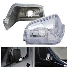 For mercedes Benz Sprinter Mirror Side Indicator Light Left Door Mirror Cover