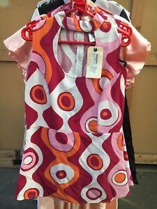 60's Bourdeaux Dress M