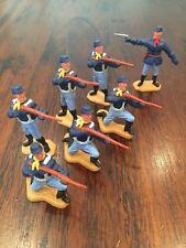 Timpo Union/ US 7th Cavalry - Firing Squad - Wild West - 1970's