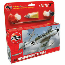 AIRFIX A55106 Messerschmitt Bf109E Starter Set 1:72 Aircraft Model Kit