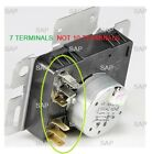 W10745654 GAS DRYER TIMER for WHIRLPOOL AMANA CROSLEY ROPER KENMORE(7 TERM)      photo