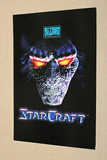 1997 Blizzard StarCraft Extremely rare Promo Postcard Post Card