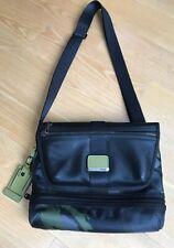 Tumi Travis Crossbody Messenger Bag Green Camo Alpha Bravo Expandable 103703