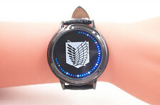 Anime Attack on Titan Led Light Touch Watch Black