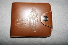 Men's Bailini genuine leather bi-fold wallet