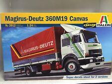 +++ Italeri 1:24 Magirus Deutz 360 M19 Canvas Truck  3912