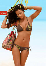 Bronseada italy NERO NUOVO!!! Triangolo-Bikini