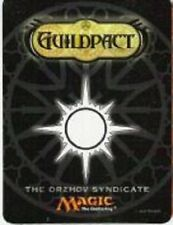 The Orzhov Syndicate FRIDGE MAGNET  -LP - Guildpact PreRelease Promo MTG 2006