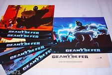 LE GEANT DE FER !   jeu 6 photos cinema lobby cards animation manga