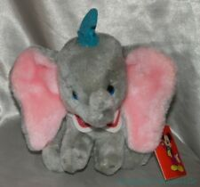 "NEW Rare Vintage 80s DISNEYLAND WDW Plush Beanie 9"" DUMBO The ELEPHANT Nutshells"