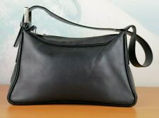 Authentic BALLY  Shoulder Bag leather BLACK  MADE IN ITALY