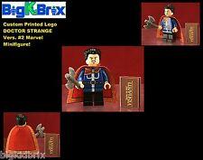 DOCTOR STRANGE Ver.2 Marvel Custom Printed LEGO Minifigure NO DECALS