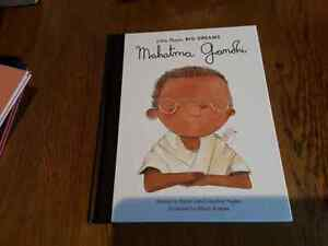 Little People,Big Dreams Mahatma Gandhi by Maria Isabel Sanchez Vegara,
