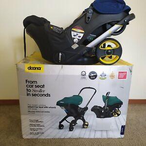 Doona Car Seat & Stroller (Royal Blue) W/ Latch Base - Exp 2026