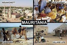 SOUVENIR FRIDGE MAGNET of MAURITANIA