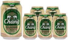 (4,52€/l)  Chang Classic Bier 6 x 330ml Dosen pfandfrei 5% vol. Chang Beer