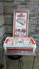 VINTAGE TUDOR TABLE HOCKEY GAME 60's EAST VS WEST WORKS