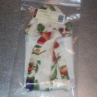 Longaberger Fruit Medley BAGEL Basket Liner ~ Brand New in Original Package!