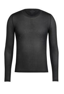 Rapha PRO TEAM Long Sleeve Base Layer Black BNWT Size M