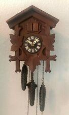 Vintage E. Schmeckenbecher Germany 1 Day Cuckoo Clock