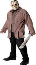 ADULT JASON FRIDAY THE 13TH HORROR MOVIE COSTUME MASK RU16576