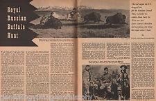 Buffalo Hunt Of Grand Duke of Alexis, Custer & Cody+Asch,Beeson,Belknap,Forsyth