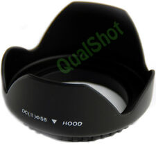 Flower Camera Hood 58mm Petal for Canon EOS 18-55 lens