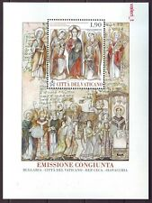 2013 Vatican Joint issue St.Cyril & Methodius Bulgaria,Slovakia,Czech.Rep.S/S **