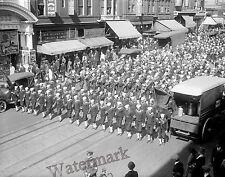 Photograph John Philip Sousa 1918 US Navy Band  4th Liberty Loan Drive 11x14