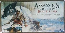 Assassin's Creed IV Black Flag Video Game Promotional 6ft x 3ft Poster Banner